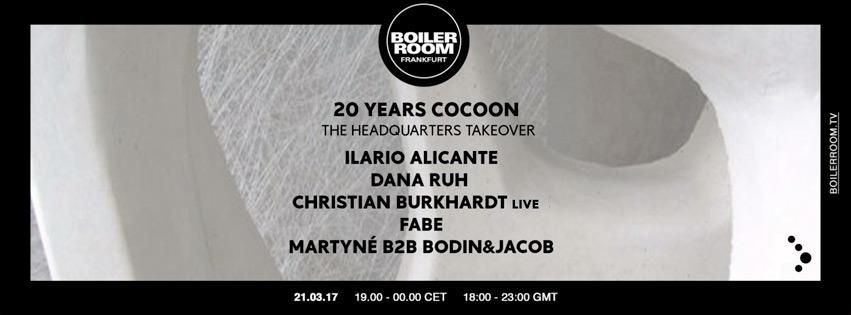 Boiler Room: Celebrating 20 Years Of Cocoon