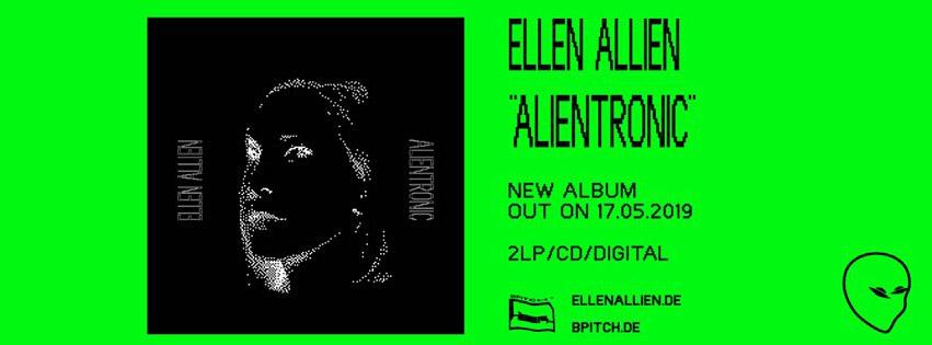 Release: Ellen Allien – Alientronic